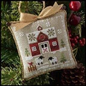 Farmhouse Christmas Little Red Barn