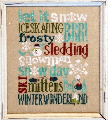 Winter Typography Digital Download