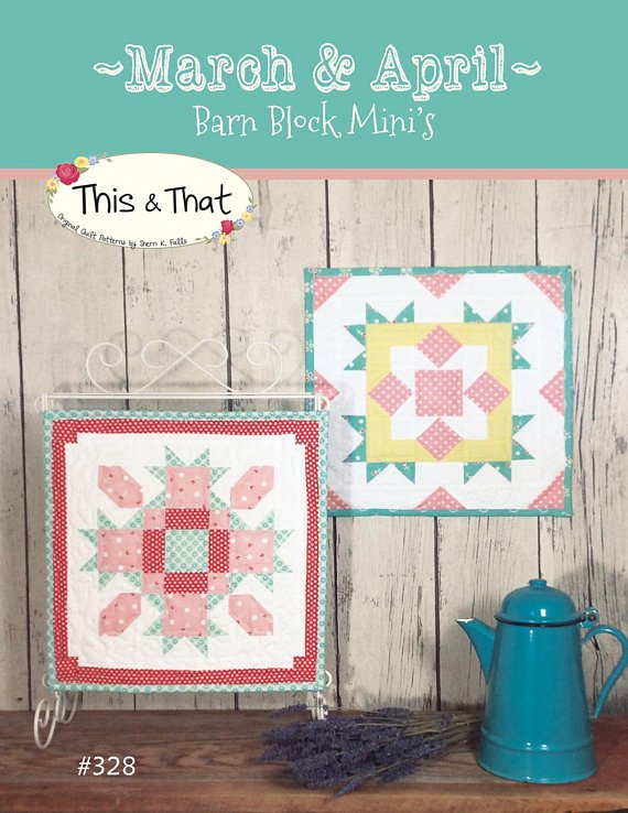 March & April Barn Block Mini's