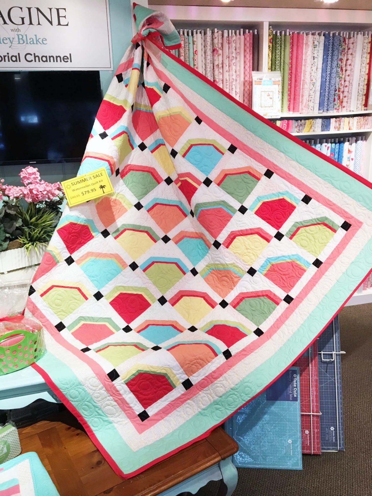 Watermelon Quilt Kit