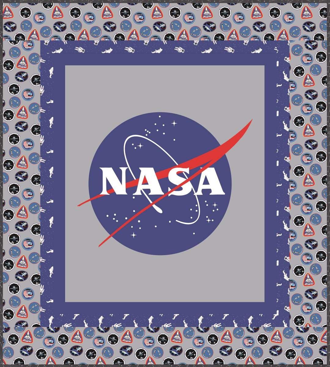 NASA Logo Quilt Kit