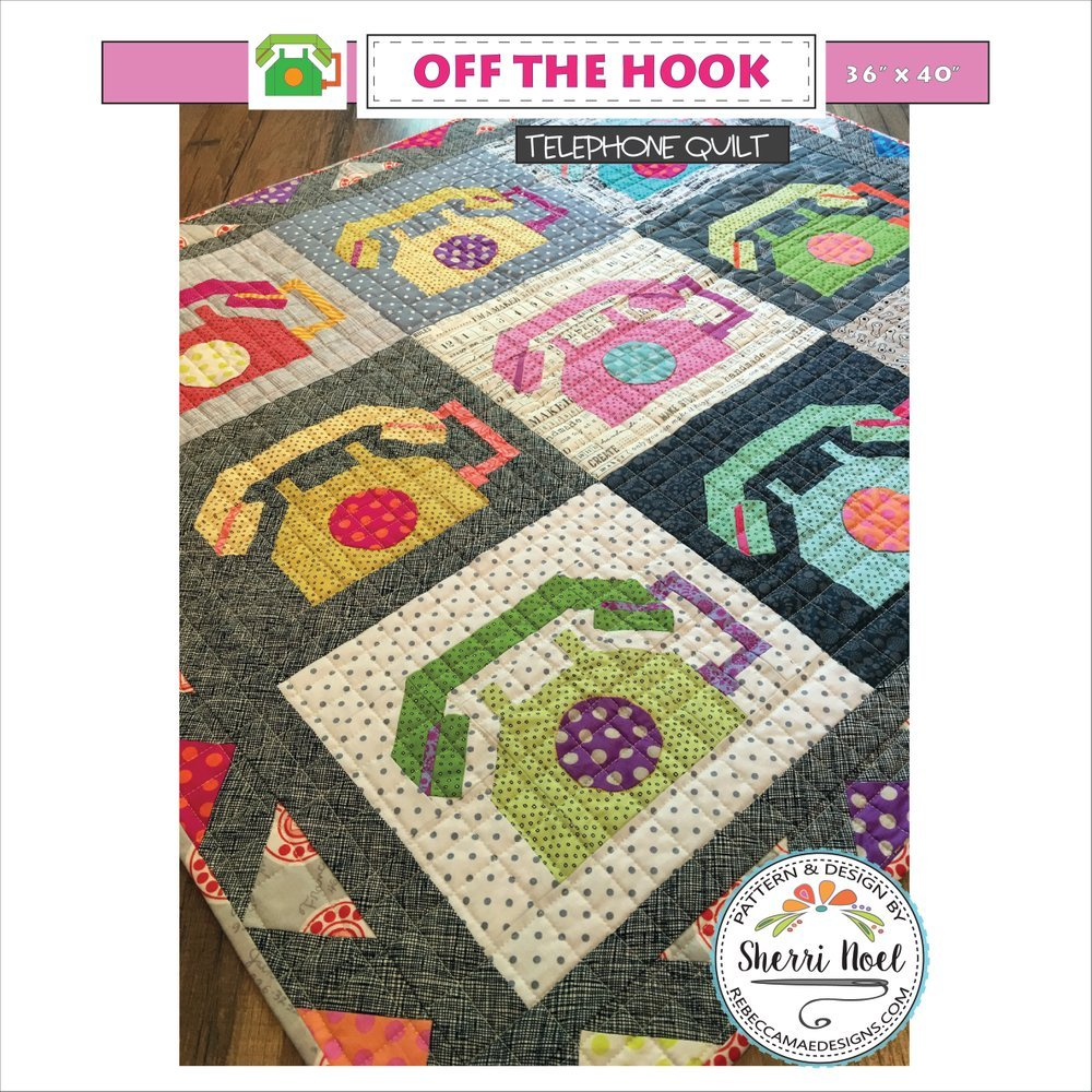 Off the Hook-Telephone Quilt