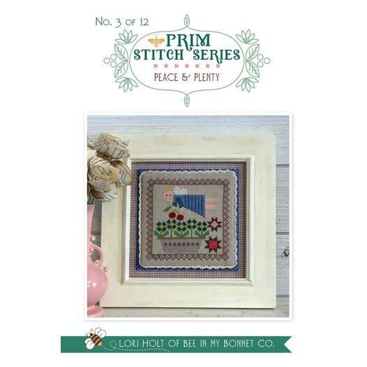 Peace & Plenty - Prim Stitch Series Cross Stitch Pattern