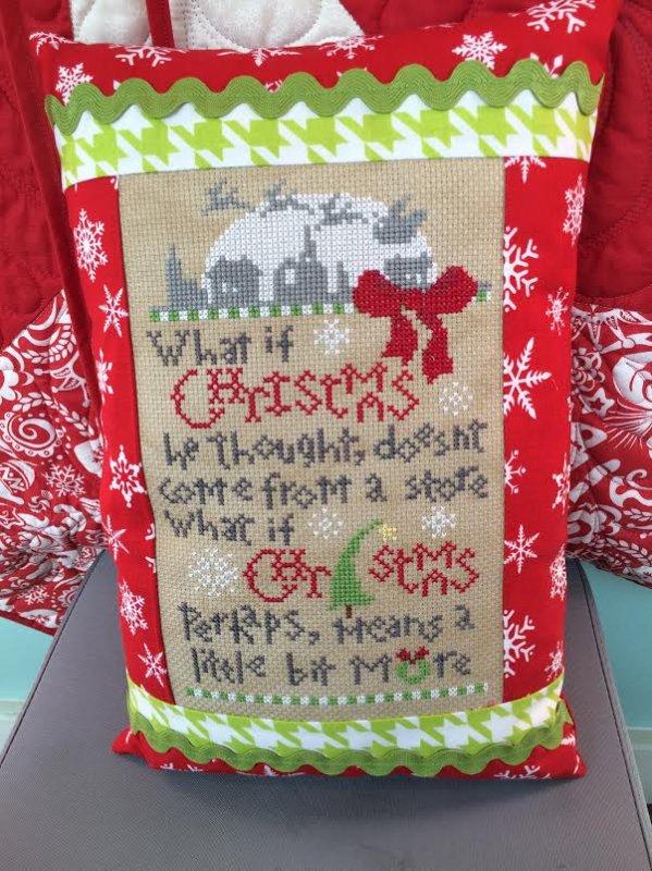 Perhaps Christmas Pillow Kit