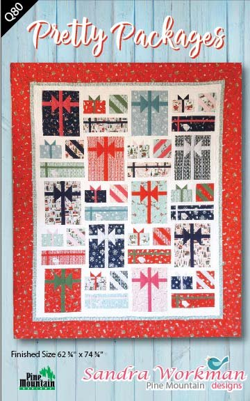Pretty Packages quilt pattern by Sandra Workman Designs