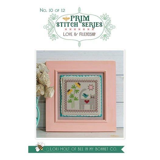 Love & Friendship - Prim Stitch Series Cross Stitch Pattern