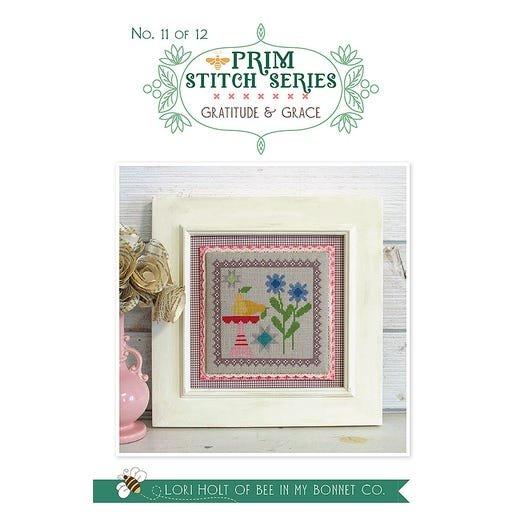 Gratitude & Grace - Prim Stitch Series Cross Stitch Pattern