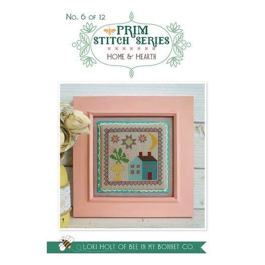 Home & Hearth - Prim Stitch Series Cross Stitch Pattern