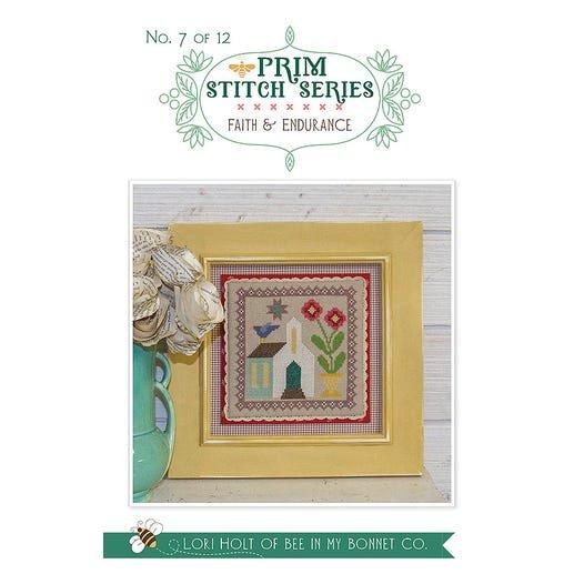Faith & Endurance - Prim Stitch Series Cross Stitch Pattern