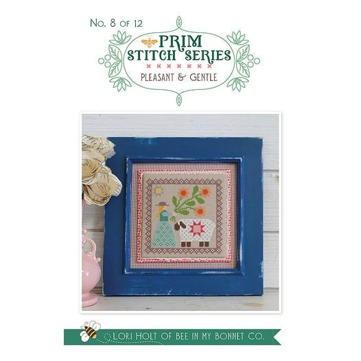 Pleasant & Gentle - Prim Stitch Series Cross Stitch Pattern