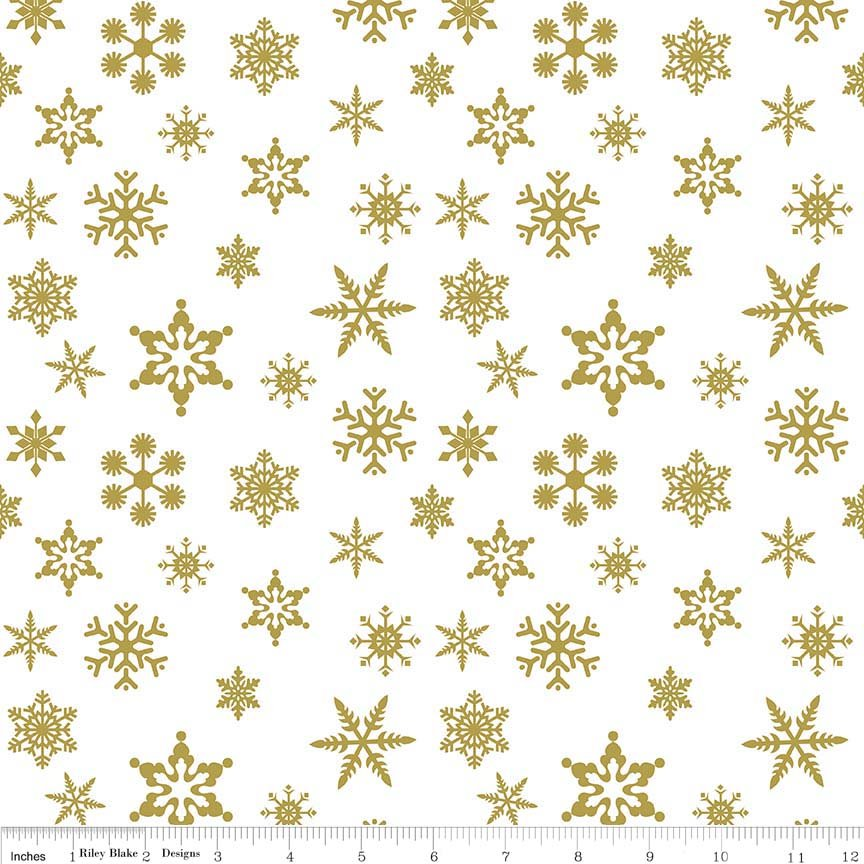 Riley Blake Snowflake Sparkle