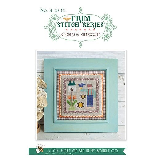 Kindness & Generosity - Prim Stitch Series Cross Stitch Pattern