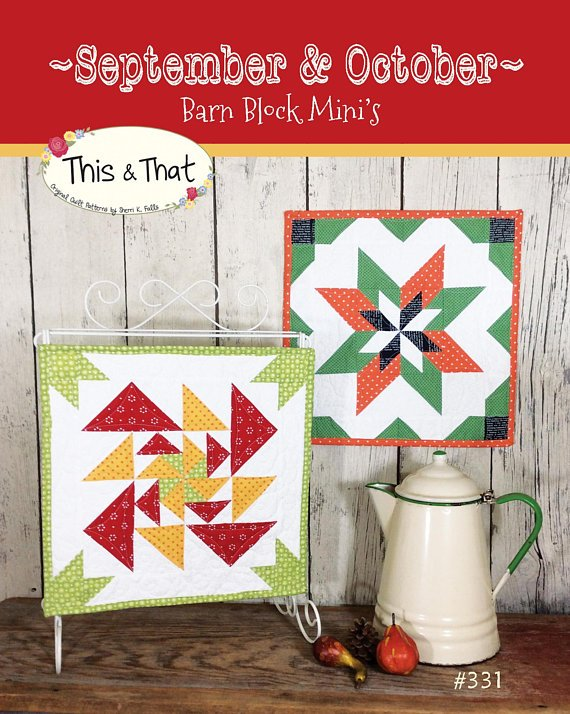 September & October Barn Block Mini's