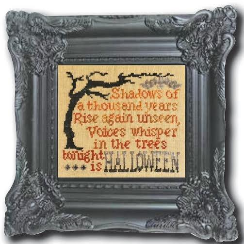 Shadows of Halloween Linen Kit