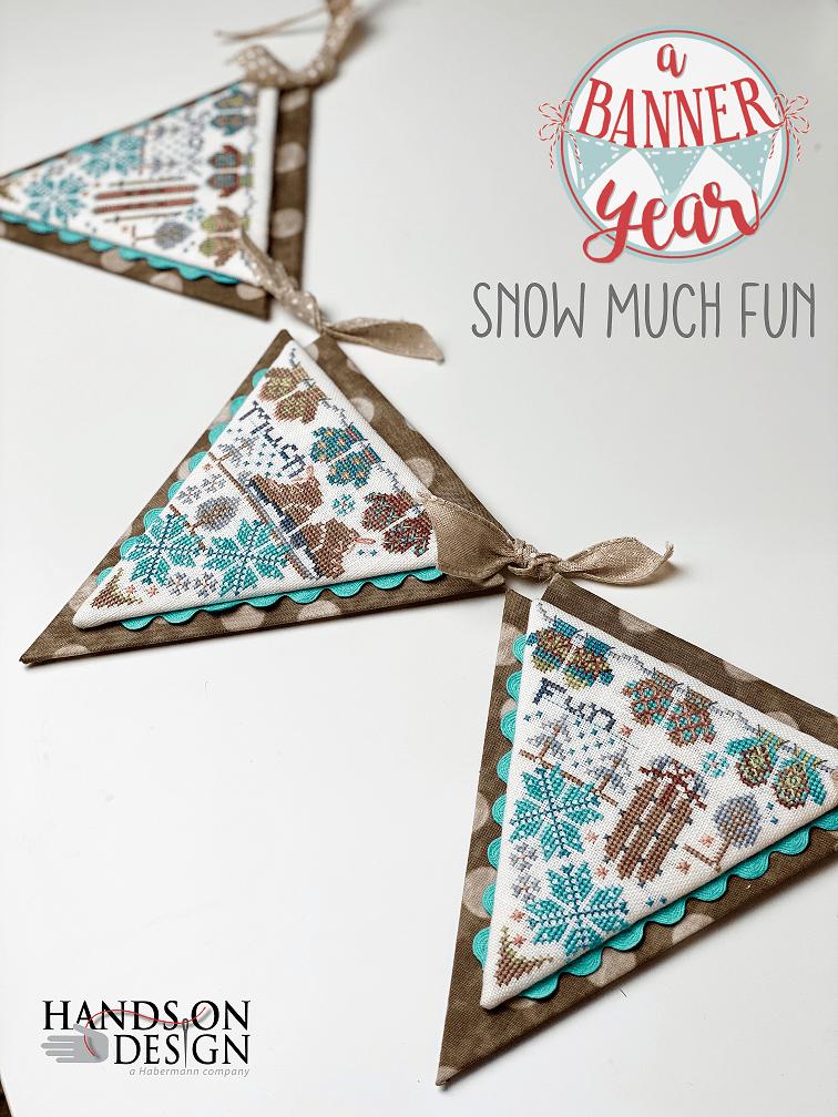 Snow Much Fun - Cross Stitch Pattern