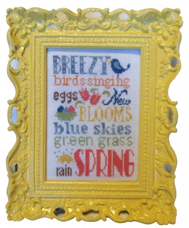 Spring Typography Linen Kit