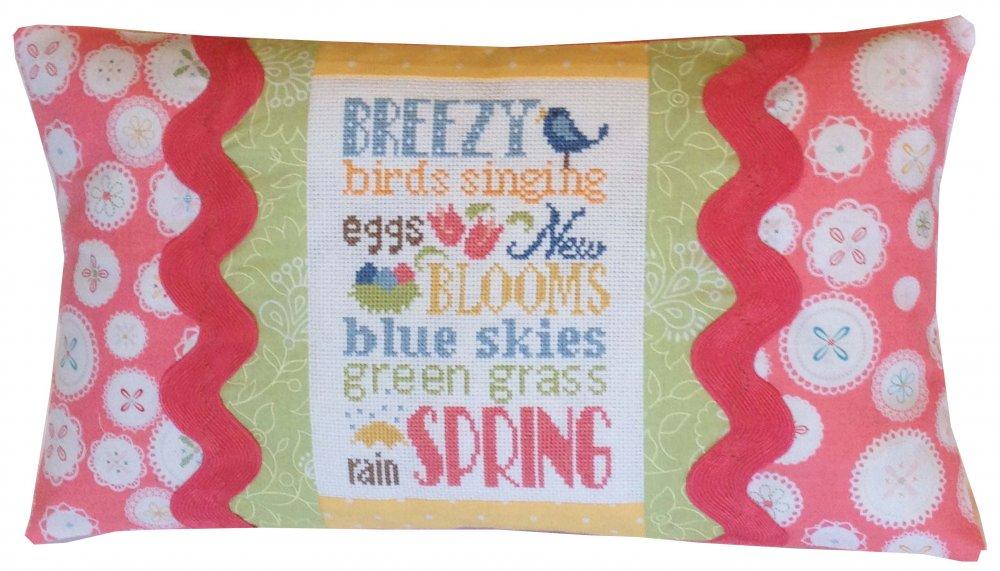 Spring Typography Pillow Kit