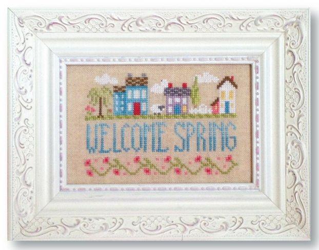 Springtime In The Village Pattern - Digital Download