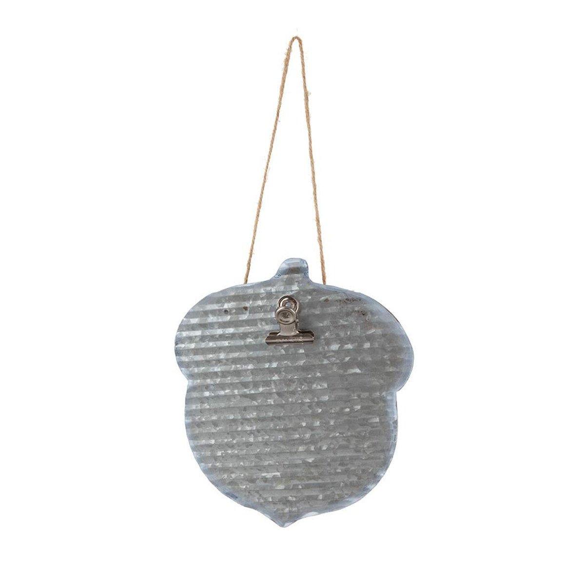 Stacy West | Buttermilk Basin Acorn Metal Hanger  STM-20376