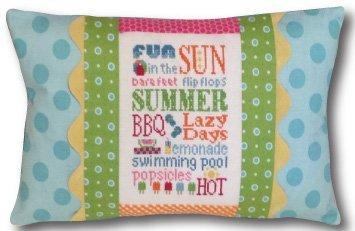 Summer Typography Pillow Kit