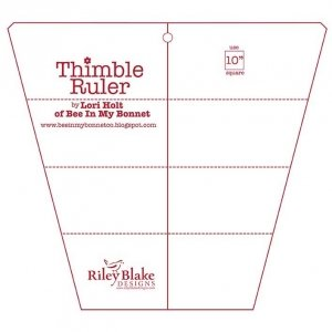 Thimble Rulers by Lori Holt