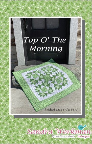 Top O' The Morning Table Topper - Digital Download