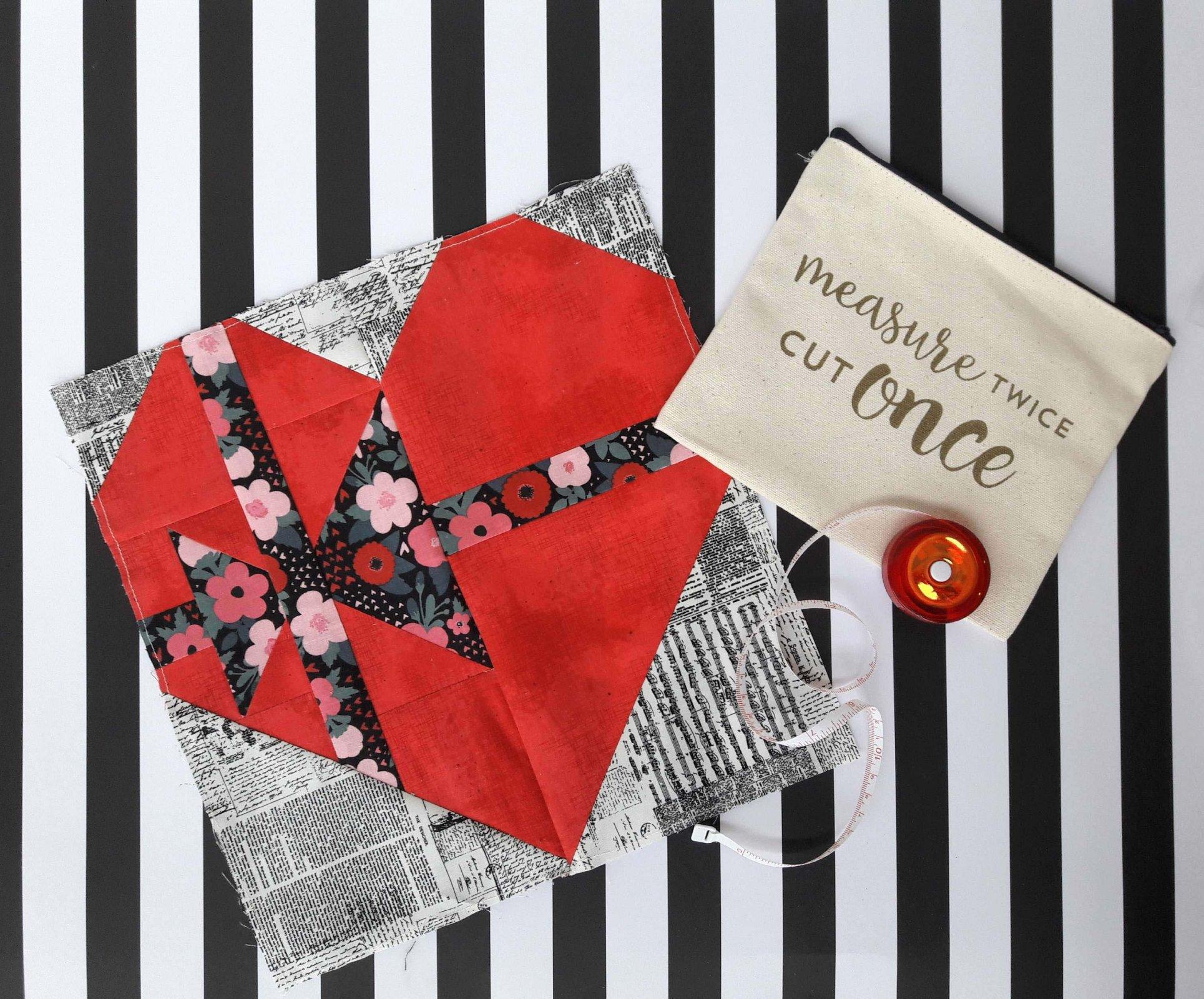Valentine Mystery Quilt