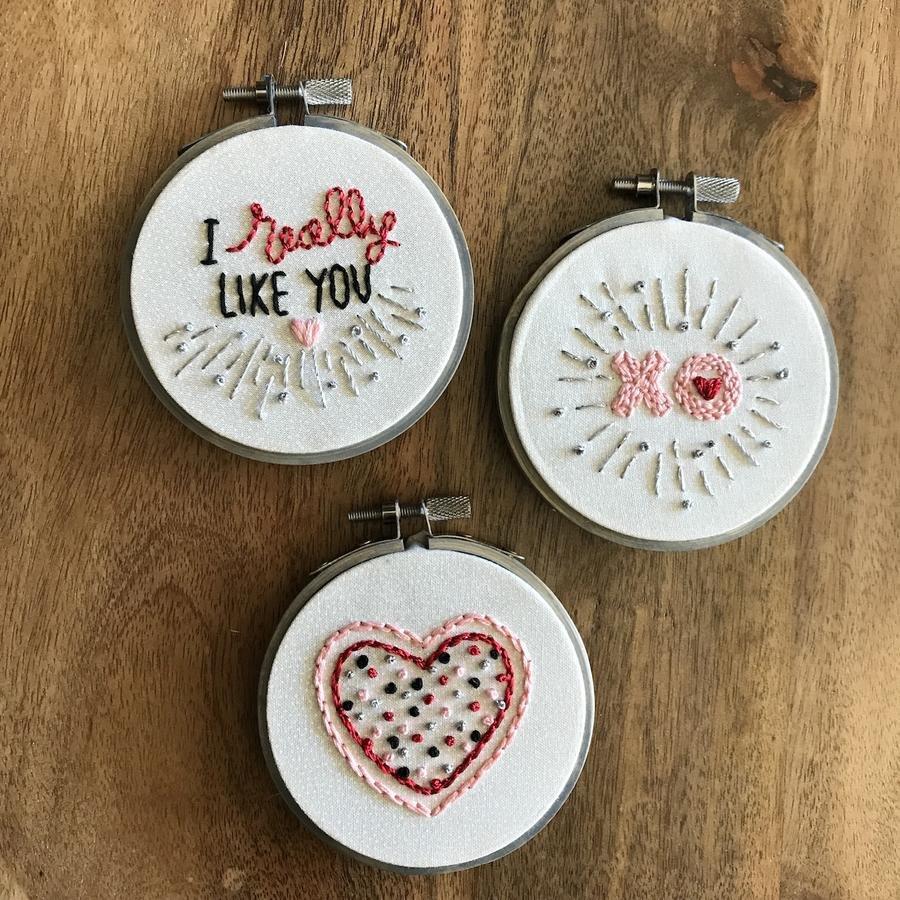 Lynny Lou - Valentine Ornaments
