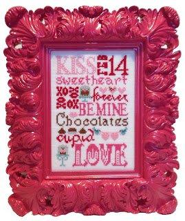 Valentine Typography Linen Kit