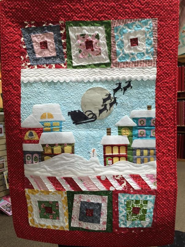 Wonky Christmas Fabric Kit