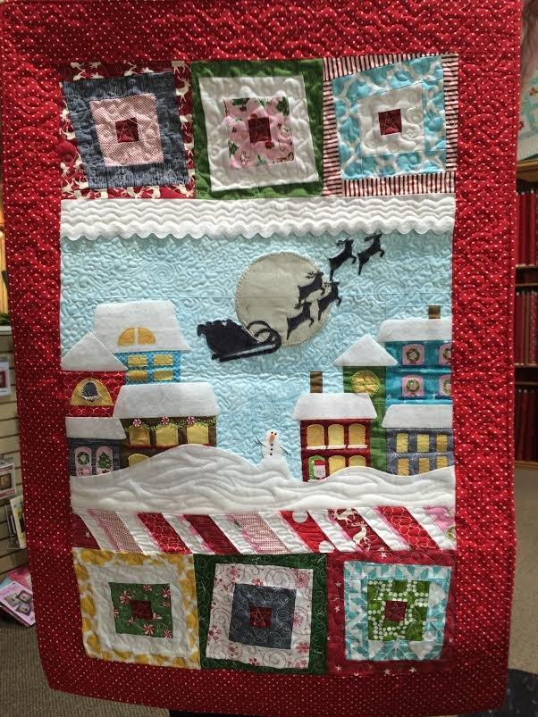 Wonky Christmas Button Kit