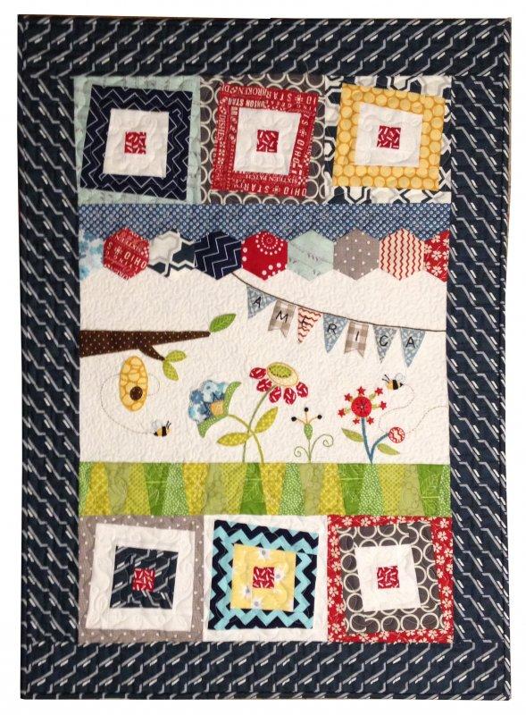 Wonky Freedom Fabric Kit