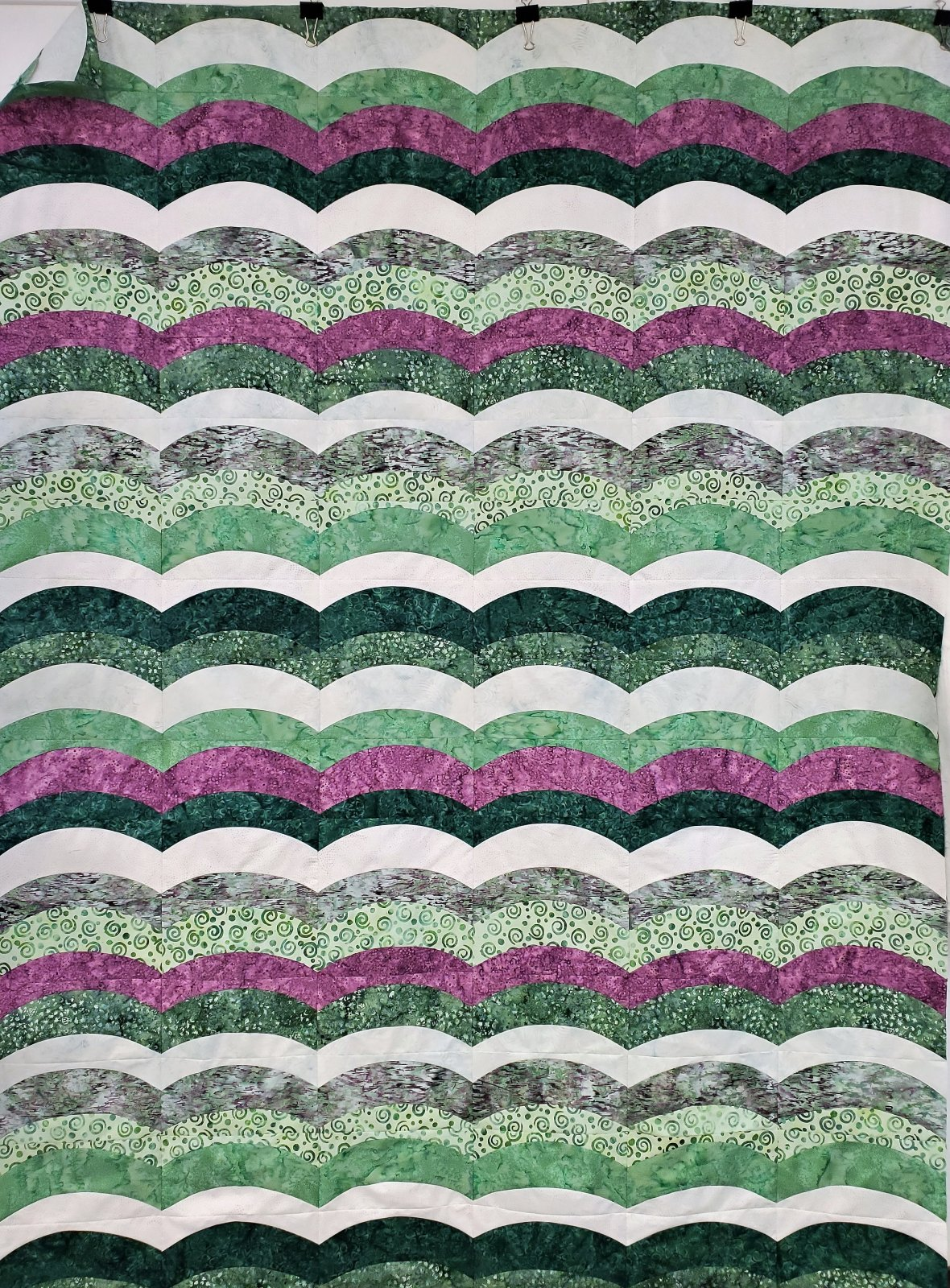 Metro Waves Quilt Kit