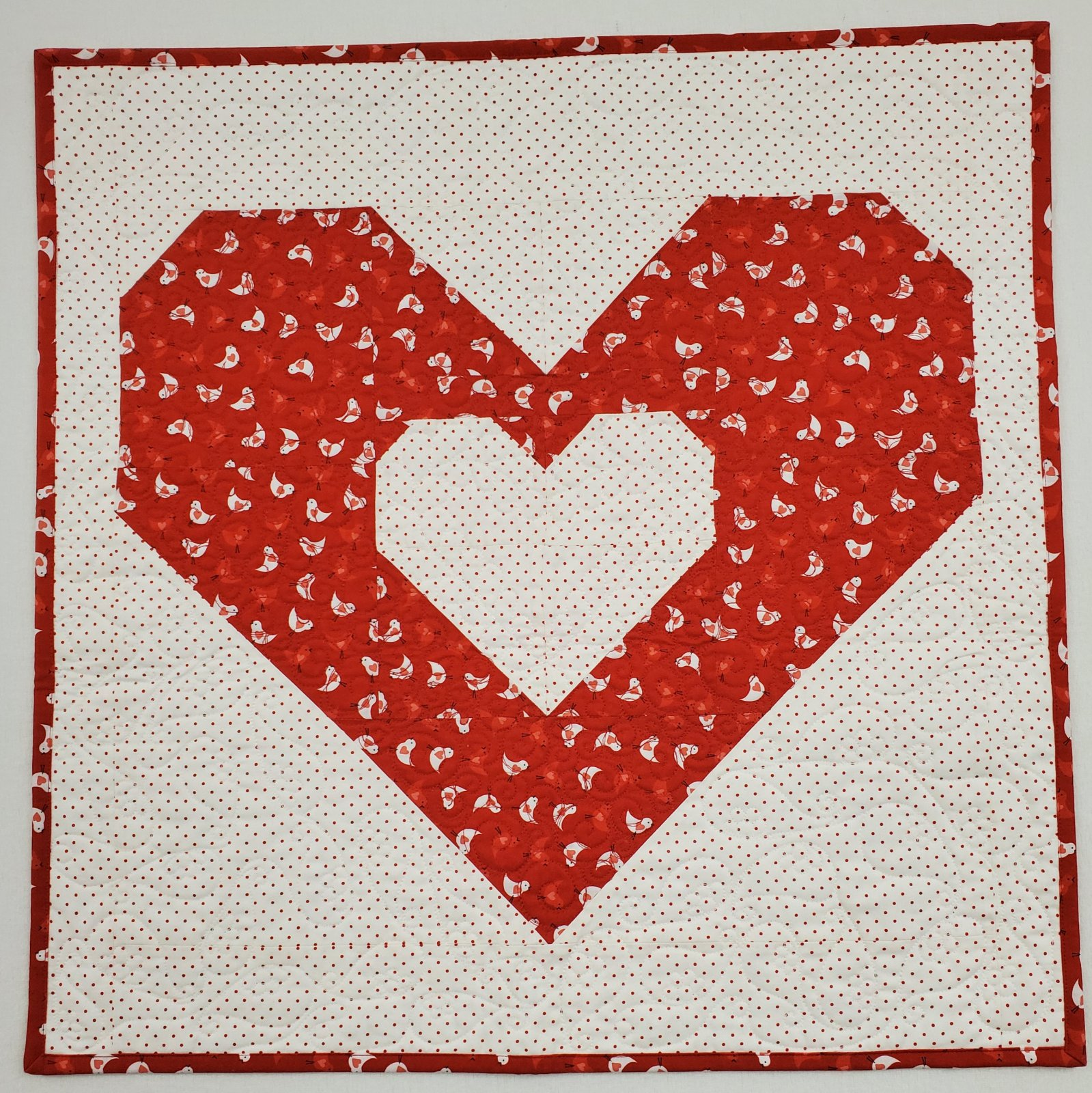Heart Table Topper/Wall Hanging