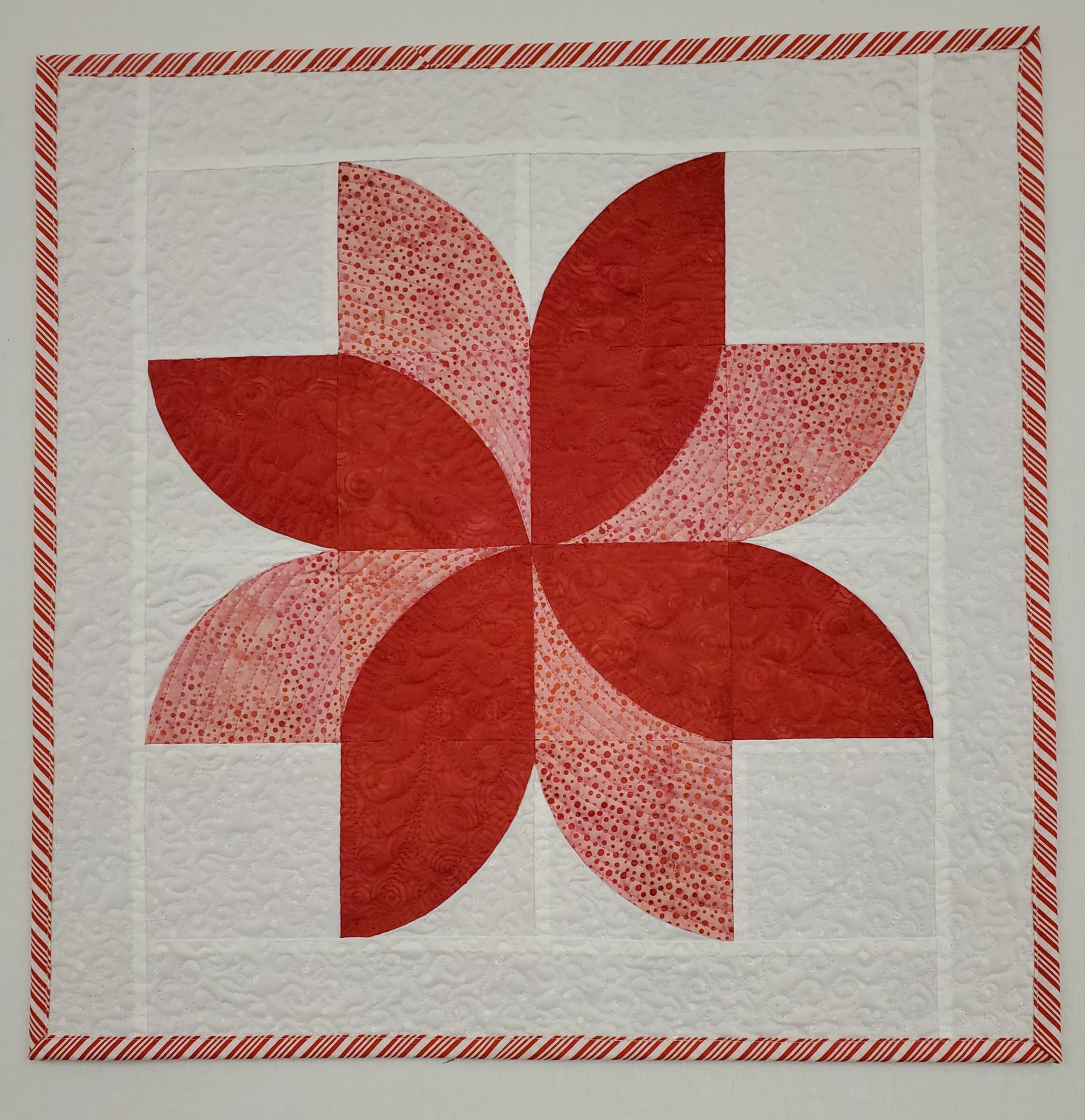 Red Poinsettia Wall Hanging