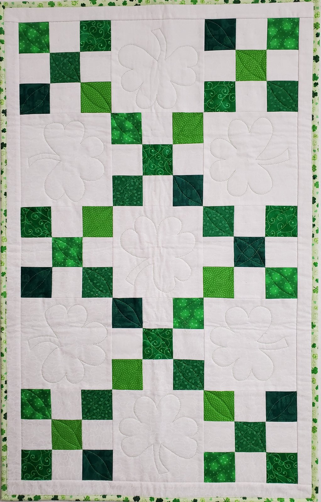 St. Paddy's Day Runner Pattern