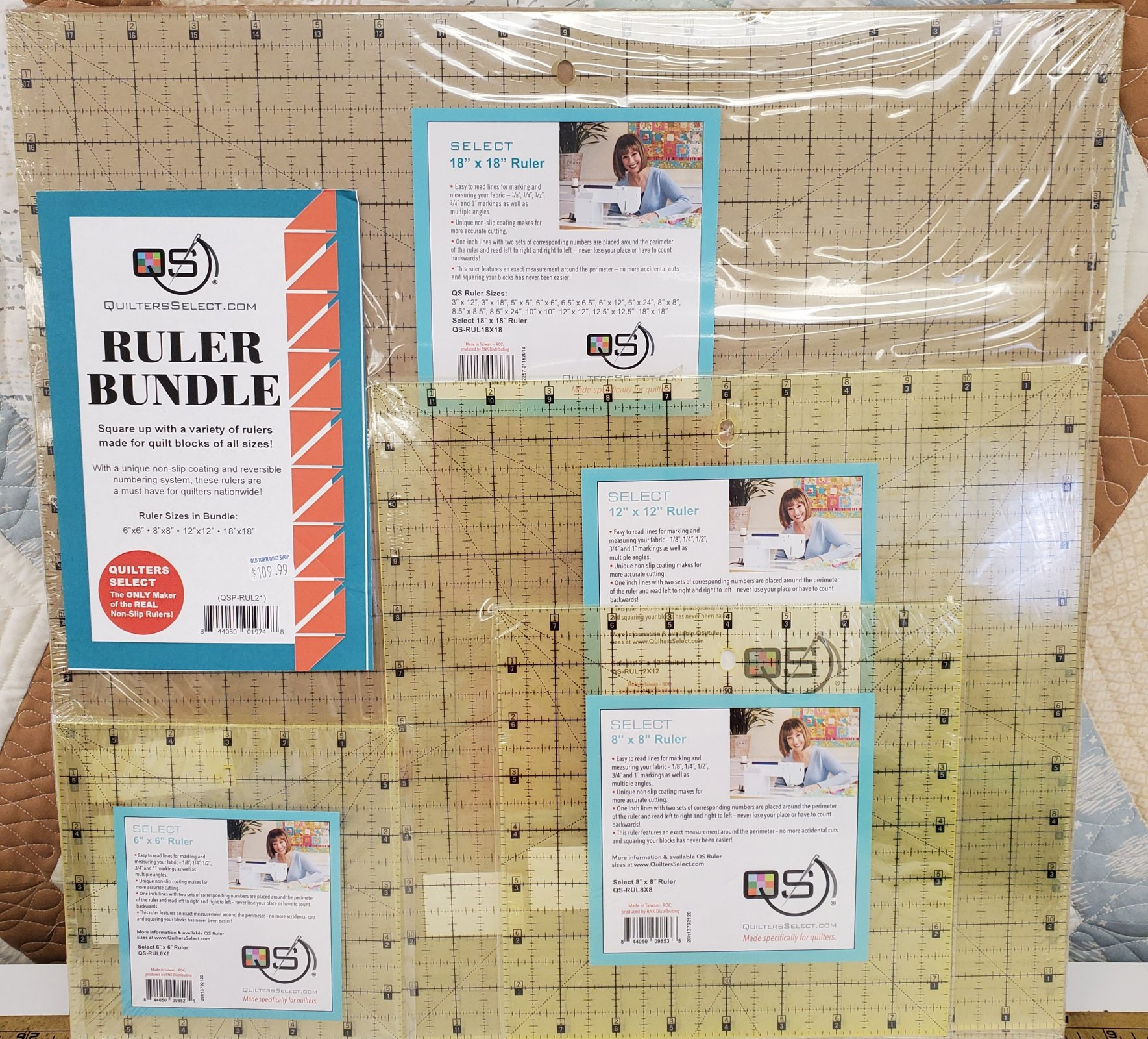 Quilter's Select Ruler Bundle