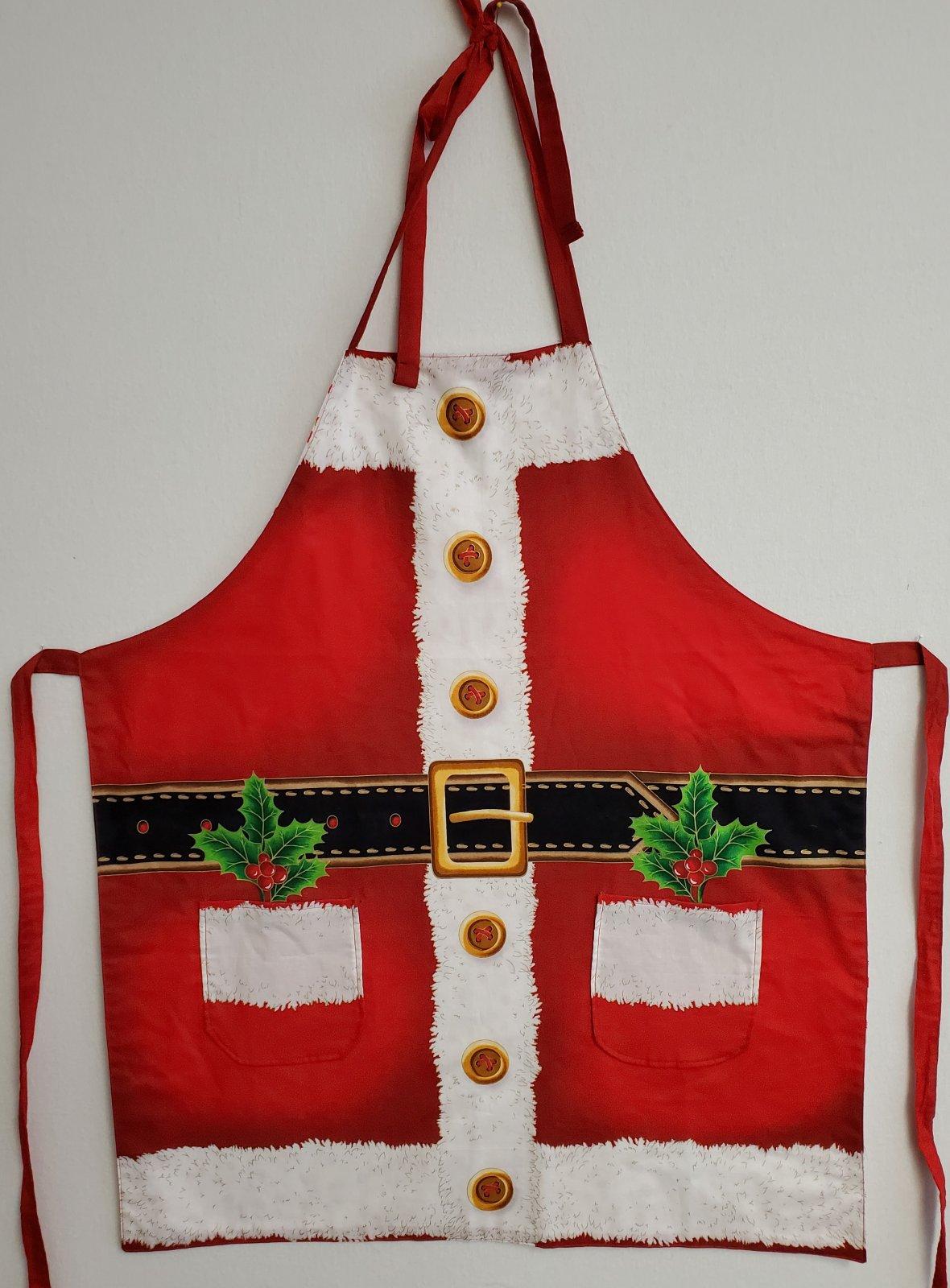 Santa Apron - reversible