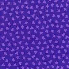 Dino Daze Footprints Purple