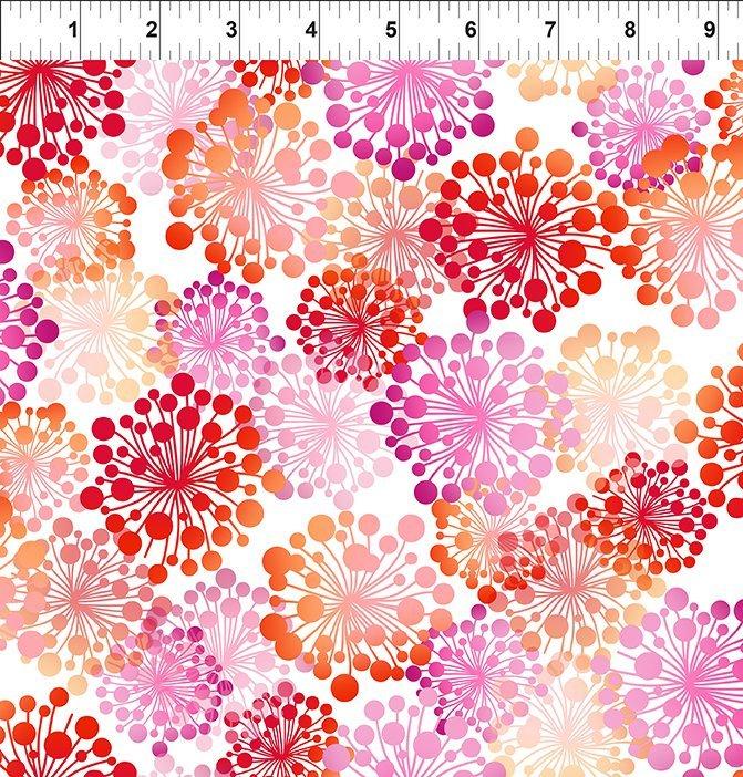 A Groovy Garden Floral Pink