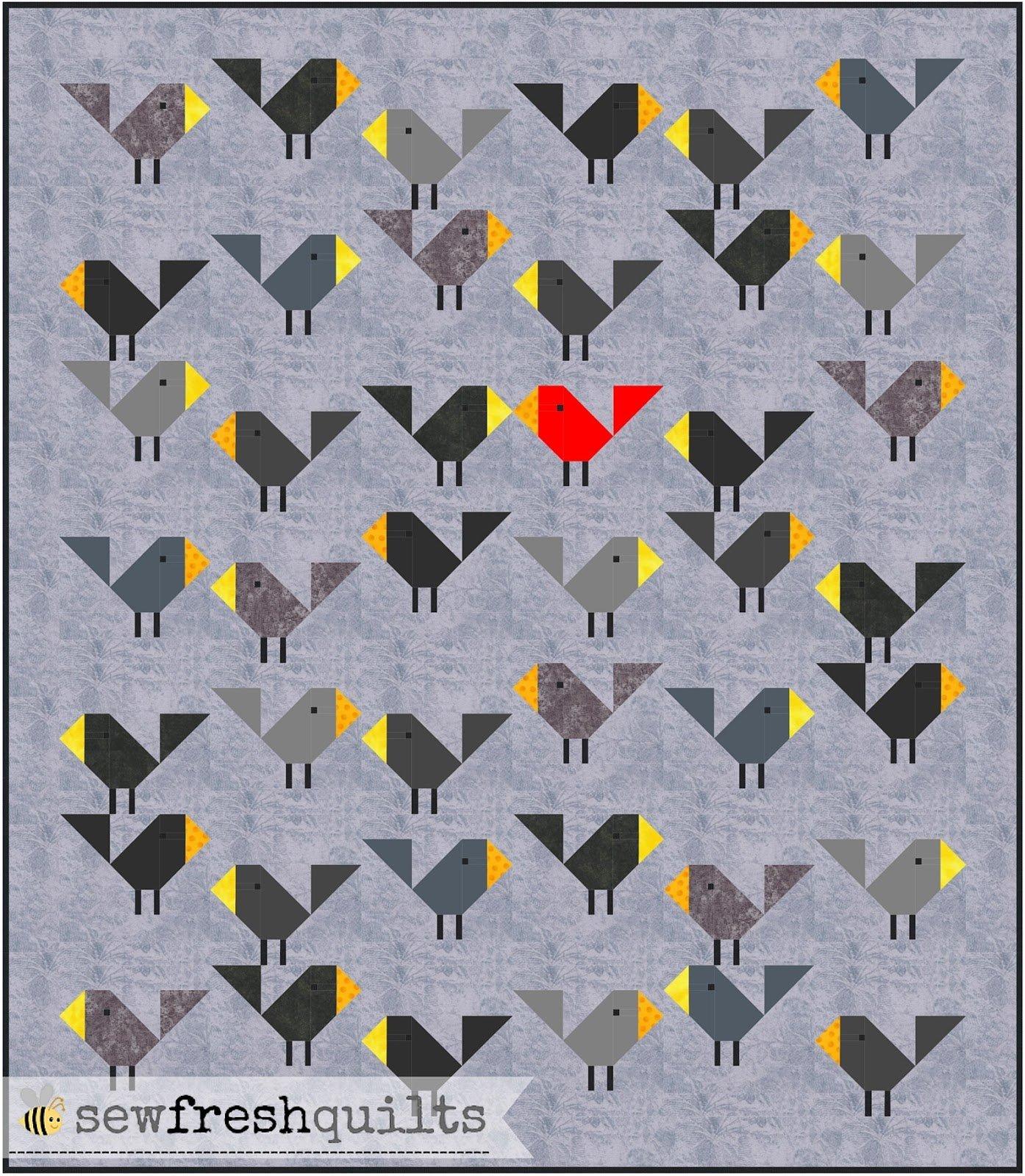 Black Bird Quilt