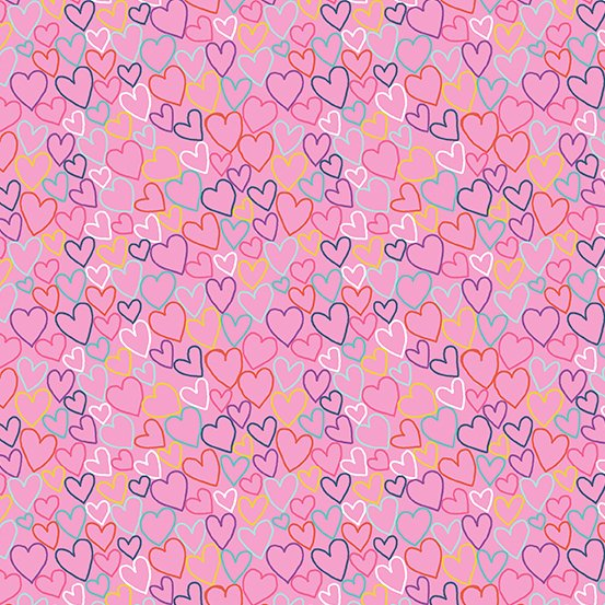 Daydream Pink Hearts