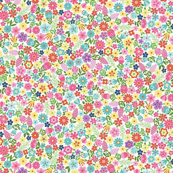Daydream White Flowers Multi