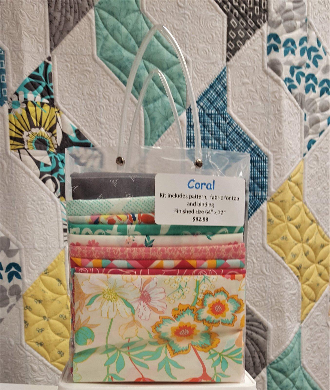 Coral Quilt Kit