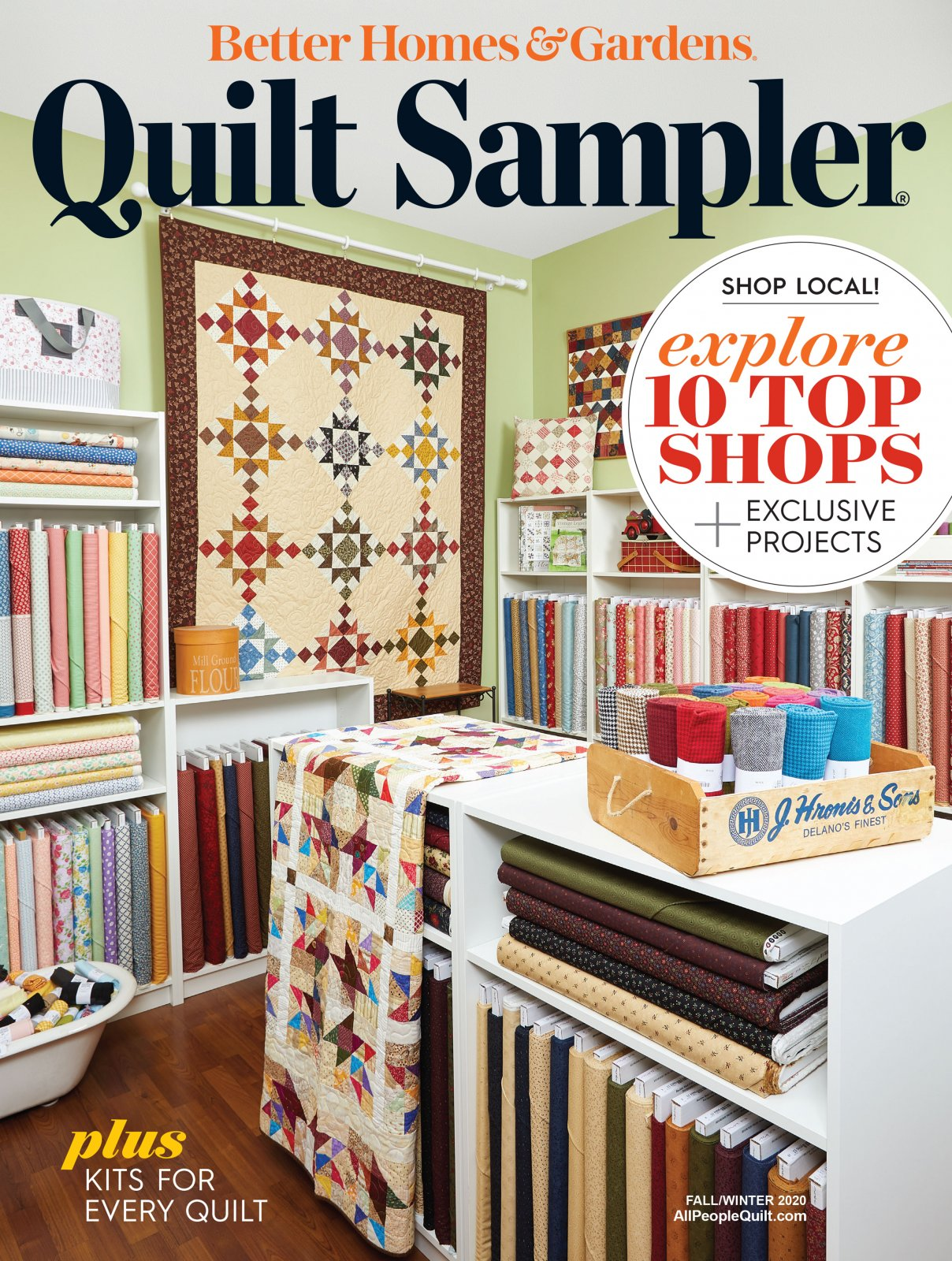 Quilt Sampler Fall/Winter 2020 Magazine