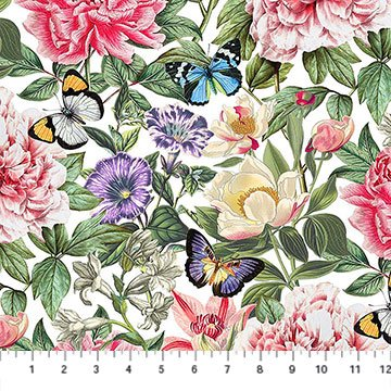 Botanica White Multi Feature Floral