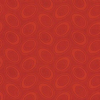 Aboriginal Dot Red