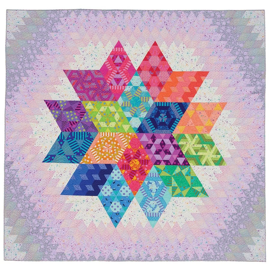 Nebula Block of the Month Queen size Kit