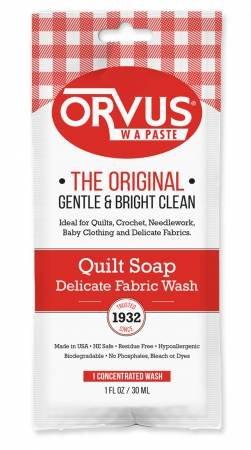 Orvus Quilt Soap - 1oz Single Use Pouch