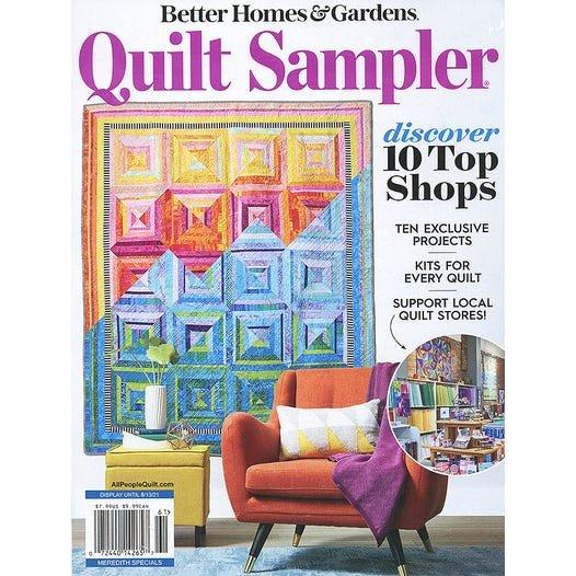 Quilt Sampler Magazine Spring 2021